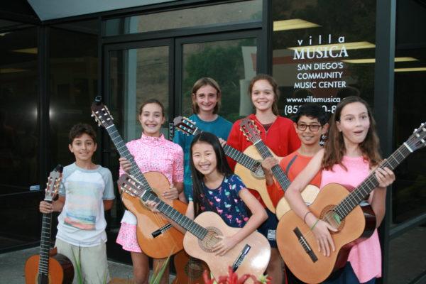JNR Classical Guitar Ensemble